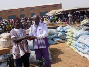 Campagne agricole de saison sèche 2017-2018 au Burkina