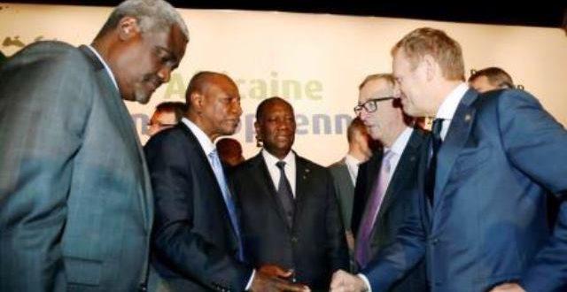 Sommet UA-UE d'Abidjan 2017: les 4 priorités des dirigeants africains et européens