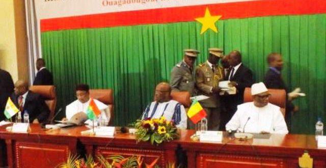 Déclaration de Ouagadougou sur la conférence Gouvernance,démocratie et affaires des 16 et 17 janvier 2018