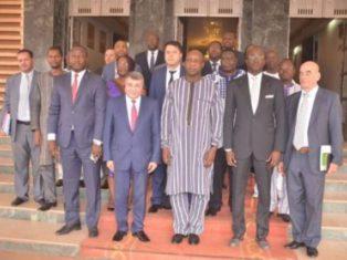 Projet d'usine textile au Burkina
