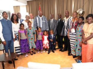 Président du Faso en Inde