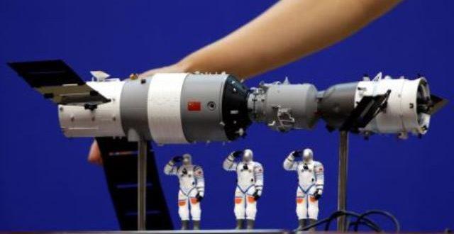 La station spatiale chinoise Tiangong-1 se désagrège au-dessus du Pacifique Sud