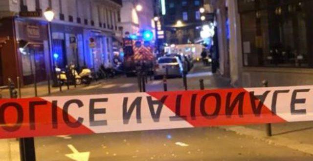 L'attaque au couteau à Paris le 12 mai 2018 revendiquée par un groupe djihaddiste