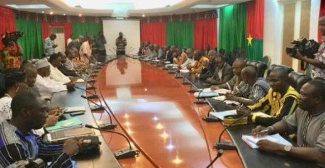 Burkina Faso:reprise des négociations gouvernement /agents des Finances le 28 Juin 2018