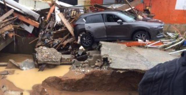Côte d'Ivoire: pluies diluviennes et mortelles à Abidjan en Juin 2018