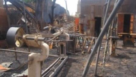 S.O.S ,incendie dévastateur de l'atelier de menuiseriebois et soudure métallique N.T.B.F à Ouagadougou