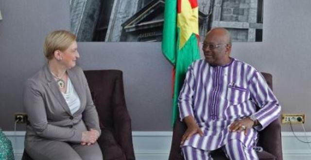 Défense et sécurité : Le parlement européen disposé à soutenir les efforts du Burkina au sahel