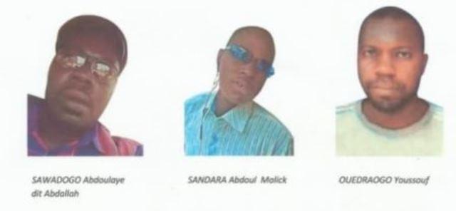 Photos des terroristes abattus le 22 Mai 2018 à Ouagadougou:appel à témoins