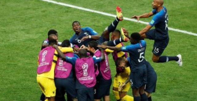 Coupe du monde Russie 2018:la France triomphe en pulvérisant la Croatie par 4 buts à 2