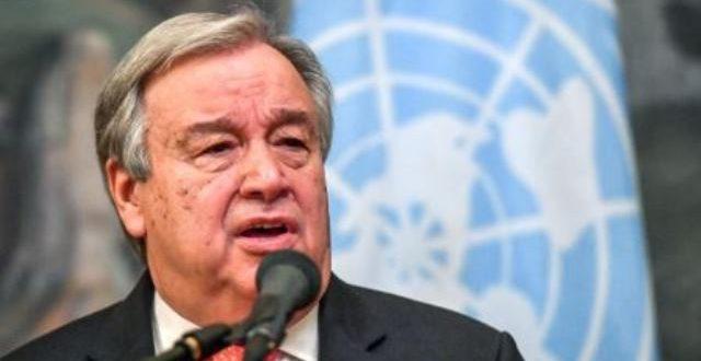 Antonio Guterres alerte sur les risques de «changement climatique incontrôlable»