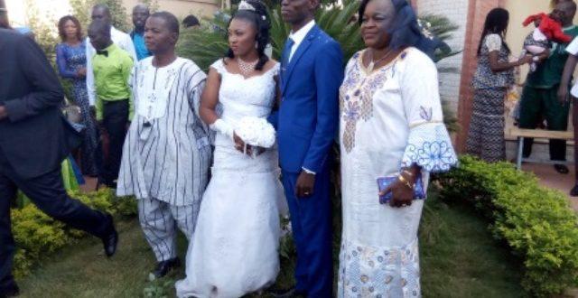 Mariage: Eloy et Ténè BONKOUNGOU unis devant Dieu et les hommes le 1er décembre 2018