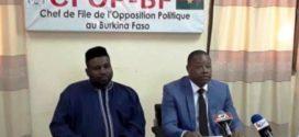 Le véritable problème du Burkina Faso, c'est le manque de leadership du Président du Faso Roch Kaboré selon l'opposition