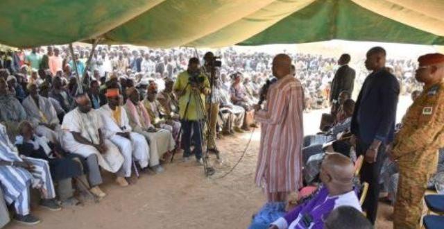 Affrontements intercommunautaires à Yirgou, le président du Faso appelle au calme sur les lieux des évènements.