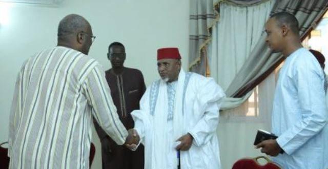 Cohésion nationale : le président du Faso reçoit une délégation de leaders coutumiers et associatifs peulhs.