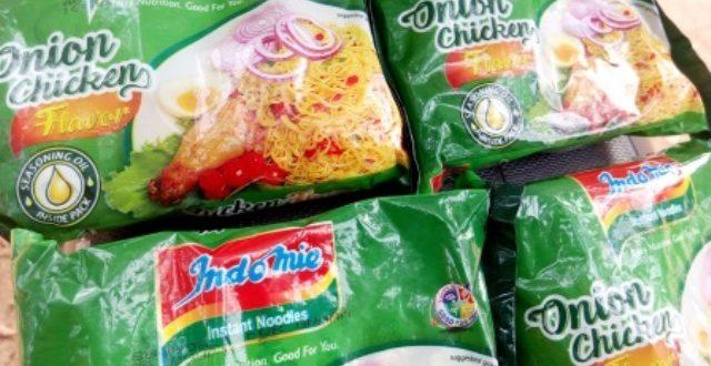 INDOMIE: de délicieux spaghettis assaisonnés au poulet, oignon, poivre à Ouagadougou