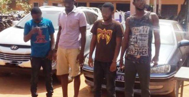 Un terroriste burkinabè et 3 alliés capturés par la police dans la région du sud-ouest