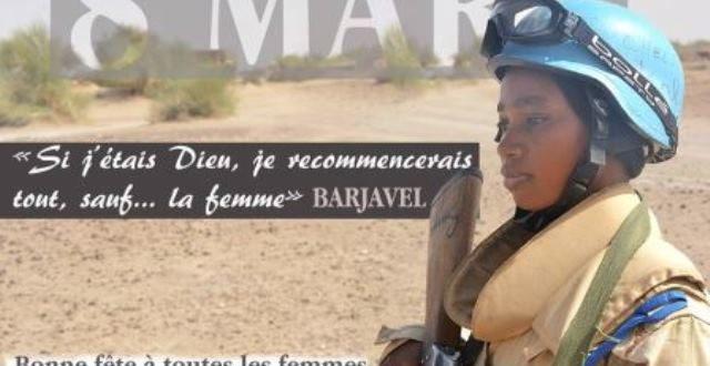 Arrêt sur image: quand l'armée burkinabè use d'une citation énigmatique pour magnifier la femme !
