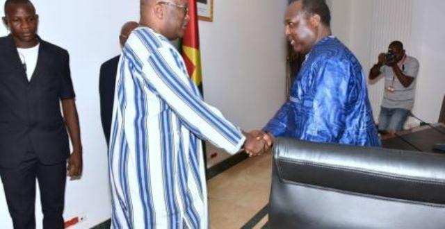 Dialogue politique : les partis affiliés au Chef de file de l'opposition politique reçus par le président du Faso le 4 avril 2019