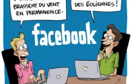 HUMOUR: savez-vous la conjugaison du verbe Facebook ?