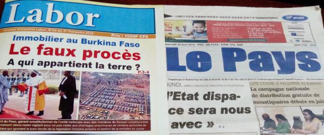 Classement mondial 2019 de la liberté de la presse: le Burkina Faso parmi les 5 premiers d'Afrique