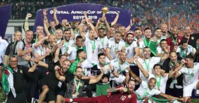 C.A.N 2019: l'Algérie victorieuse du trophée de la 32è édition du football africain