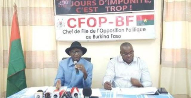 L'opposition burkinabè invite le gouvernement à initier une opération «Bori bana» sécuritaire