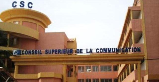 Conseil Supérieur de la Communication(CS.C) du Burkina:autorisation pour les médias de modifier leurs grilles de programmes pour mieux sensibiliser sur le Coronavirus