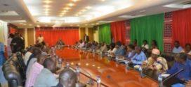 Rencontre gouvernement syndicat burkina 2013