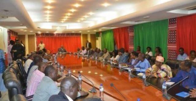 Rencontre Gouvernement burkinabè -Syndicats : vers une reprise des négociations le 22 juillet 2019.