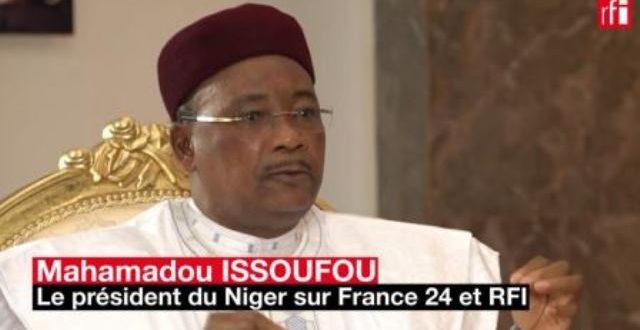 Mahamadou Issoufou,président du Niger: le terrorisme au Sahel, une menace pour le «monde entier»