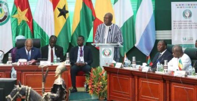 Les chefs d'Etat de la CEDEAO s'engagent à mobiliser 500 milliards de FCFA  pour lutter contre le terrorisme