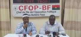 Après les vacances d'Août 2019,l'opposition burkinabè donne de la voix sur la situation nationale