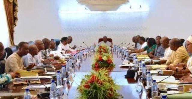 Conseil des ministres du 16 décembre 2019: remises de peine à 643 prisonniers à compter du 1er janvier 2020 au Burkina