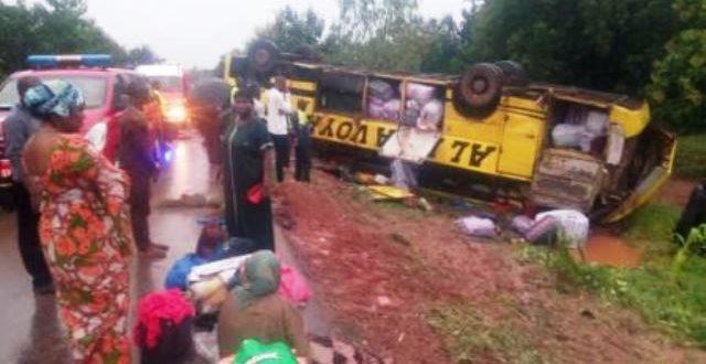 Accident d'un car à la sortie de Bobo-Dioulasso le 10 Octobre 2019