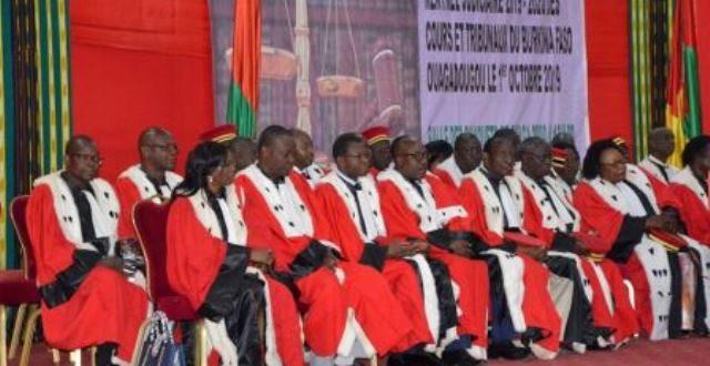 Conseil supérieur de la magistrature: le président du Faso félicite les magistrats burkinabè