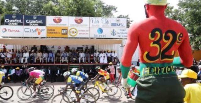 Tour du Faso 2019: le maillot jaune remporté par un cycliste Angolais