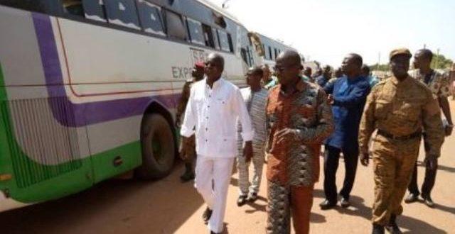 Un engin explosif contre un car a fait 14 morts dont des élèves le 4 janvier 2020 vers Tougan au Burkina
