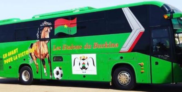 Un nouveau bus pour les Etalons, équipe nationale de football du Burkina