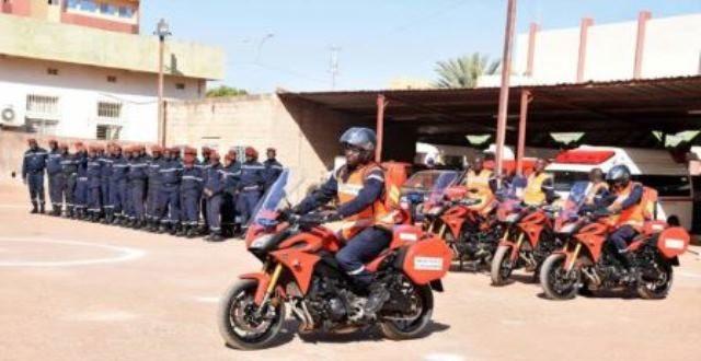 Burkina Faso: La Brigade nationale des sapeurs-pompiers lance le concept de Binôme de premier secours à moto(BPSM)
