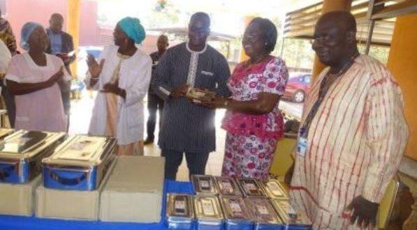 C.H.U Yalgado Ouédraogo de Ouagadougou:Des boites de césariennes offertes par l'U.N.F.P.A