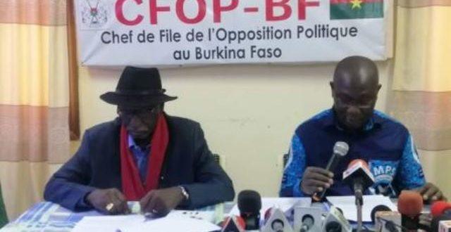 L'opposition burkinabè s'interroge sur le rôle réel des institutions de lutte contre la corruption