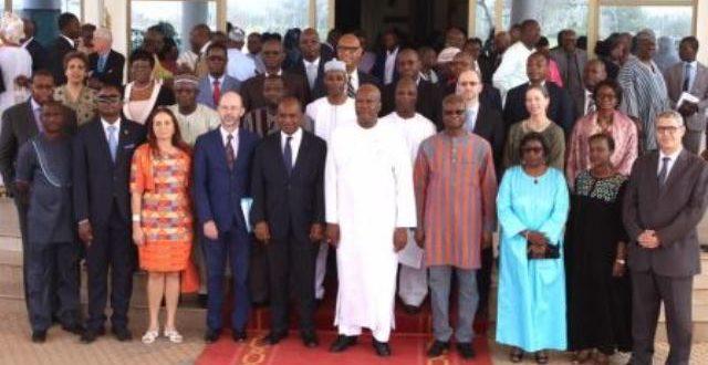 Vœux 2020 au président du Faso : les diplomates réaffirment leur soutien au Burkina Faso.