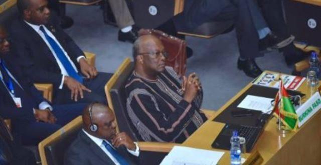 Conseil de Paix et de Sécurité de l'U.A sur l'état de la paix et de la sécurité en Afrique: discours du président du Faso Roch Kaboré