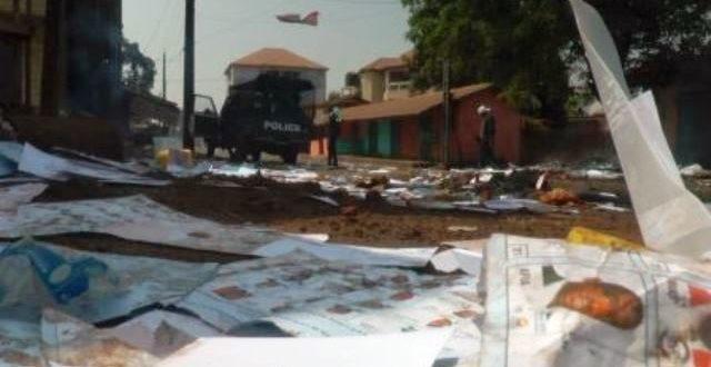 Guinée: plusieurs morts et des blessés dans des heurts lors du double scrutin du 22 mars 2020