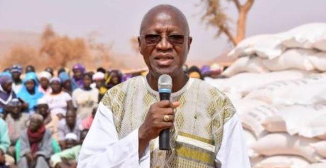 Commune de Kongoussi au Burkina: visite et dons du premier ministre Dabiré aux réfugiés du terrorisme