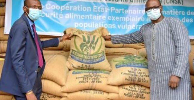 Sécurité alimentaire : 10.000 tonnes de vivres au profit des populations vulnérables du Burkina