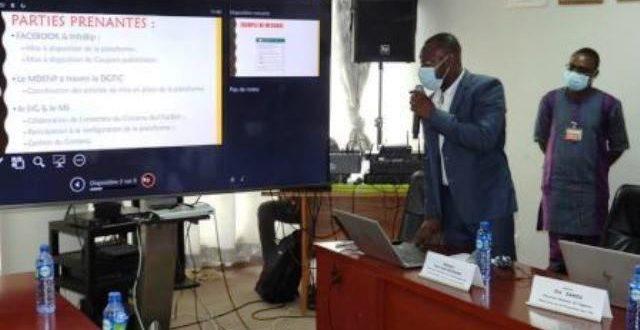 COVID- 19 : de nouvelles plateformes numériques pour renforcer la lutte contre la pandémie au Burkina