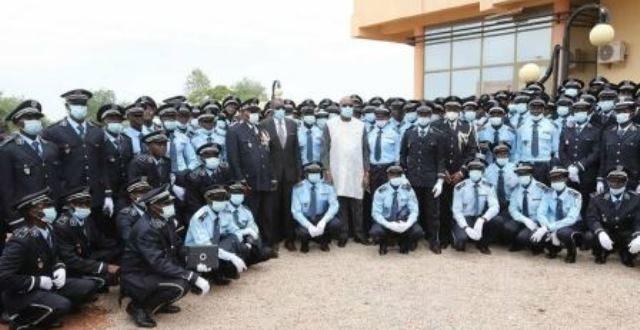 Sortie des élèves commissaires et officiers de police : le président du Faso appelle la promotion Espérance au respect de ses engagements