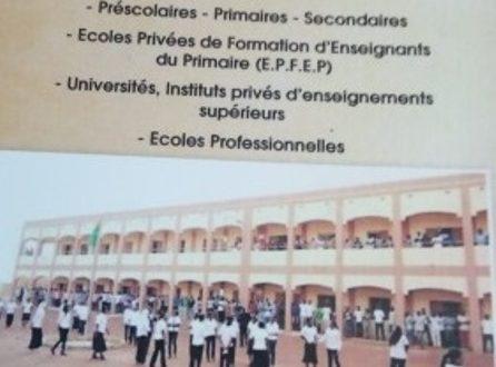 Burkina Faso: listes d'écoles privées reconnues légalement et conformes aux normes requises