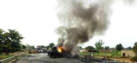 Incendie d'un camion transportant des hydrocarbures à 55 kms de Ouagadougou